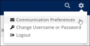 Communication Preferences in the Info Hub